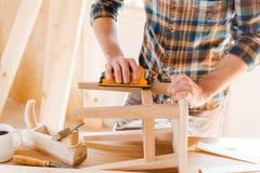 Wooden creation. Stock Photos