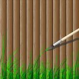 Wooden Creative Stock Photo