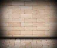 Wooden room Stock Photo