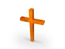 Wooden cross royalty free illustration