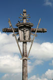 Wooden cross Stock Photos