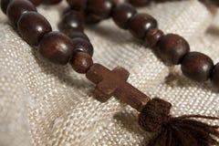 Wooden cross Stock Image