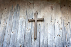Free Wooden Cross Royalty Free Stock Photography - 19231807