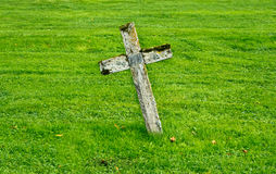 Wooden cross Stock Images