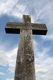 Wooden Cross Stock Photo