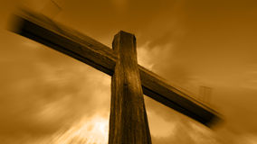Wooden cross Stock Photography