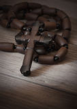 Wooden cross Royalty Free Stock Images