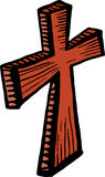 Wooden Cross Clip Art Royalty Free Stock Photo