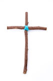 Wooden cross. Stock Image