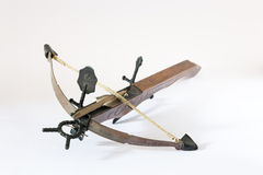 Wooden crossbow Royalty Free Stock Photo