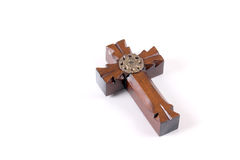 Wooden crucifix Stock Photography