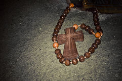 Wooden crucifix Royalty Free Stock Photo