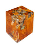 Wooden cube Stock Photo