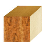 Wooden cube Royalty Free Stock Photography