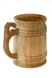 Wooden cup. Royalty Free Stock Images