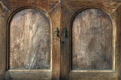 Wooden cupboard Royalty Free Stock Photography