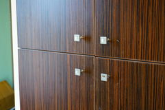 Wooden cupboard Royalty Free Stock Images