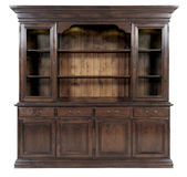 Wooden cupboard Stock Photo