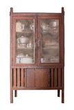 Wooden cupboard Stock Images