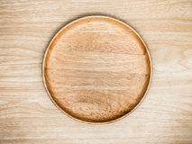 Wooden cutlery on wooden background. Top view. Wooden cutlery on wooden background Stock Photos