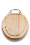 Wooden Cutting Board (with Clipping Path). Isolated wooden cutting board. Good for a background or adding other elements to Royalty Free Stock Photos