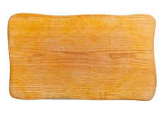 Wooden cutting board Stock Image