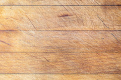 Wooden cutting board with horizontal lines background Stock Image