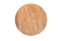 Wooden cutting board. On isolated background Royalty Free Stock Images