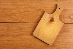 Wooden cutting board Royalty Free Stock Photography