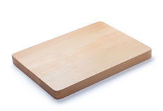 Wooden cutting board Royalty Free Stock Photos