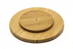 A wooden cutting board Stock Photos