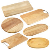 Wooden cutting boards Stock Photos