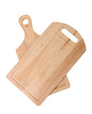 Wooden cutting boards Royalty Free Stock Photo