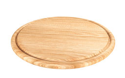 Wooden cutting plate Stock Image