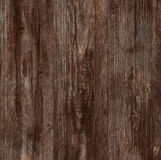 Wooden dark brown texture. Stock Image