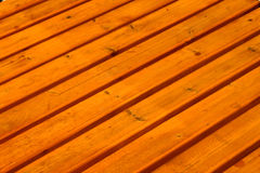 Wooden deck Stock Photography