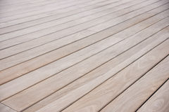 Wooden deck Royalty Free Stock Photos