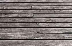 Wooden deck background Royalty Free Stock Photography
