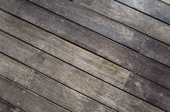 Wooden deck Stock Images