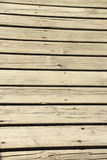 Wooden deck. Royalty Free Stock Images