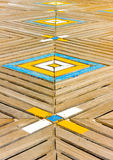 Wooden Deck Royalty Free Stock Photography
