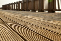 Deck Path Stock Image