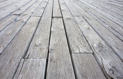 Wooden Deck Royalty Free Stock Photo