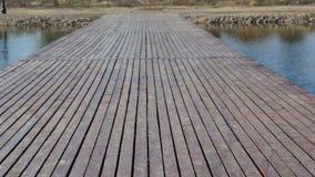 Wooden deck. Wooden deck Oradea. High resolution image Stock Photography