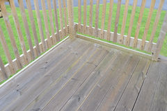 Wooden decking Royalty Free Stock Photos