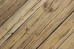 Wooden Decking Royalty Free Stock Images