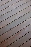 Wooden Decking Stock Image