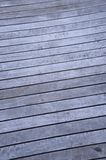 Wooden Decking Royalty Free Stock Photography