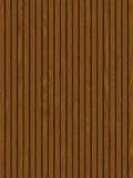 Wooden decking / panels. Rows of wooden garden decking Royalty Free Stock Image