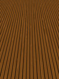 Wooden decking / panels. Rows of wooden garden decking Royalty Free Stock Images